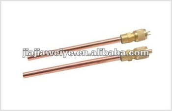 AV series Copper needle Access Valve for refrigeration parts/air conditioner use