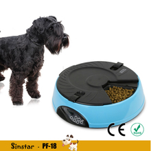 CE approval 6 Meal Smart Plastic Electronic Automatic Pet Feeder and Bowl