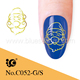 2014 new style fashion nail art sticker nail accessories nail jewelry suppliers