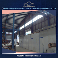 Made in china light steel prefab rent warehouse china