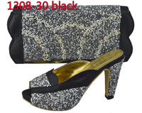 High quality ladies sandal and bag matching wholesale