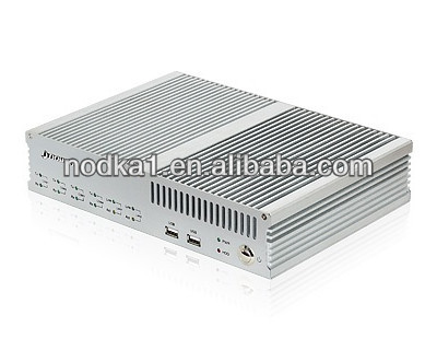 Fanless industrial computer for various application