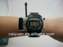 Dual band wristwatch walkie talkie for kids