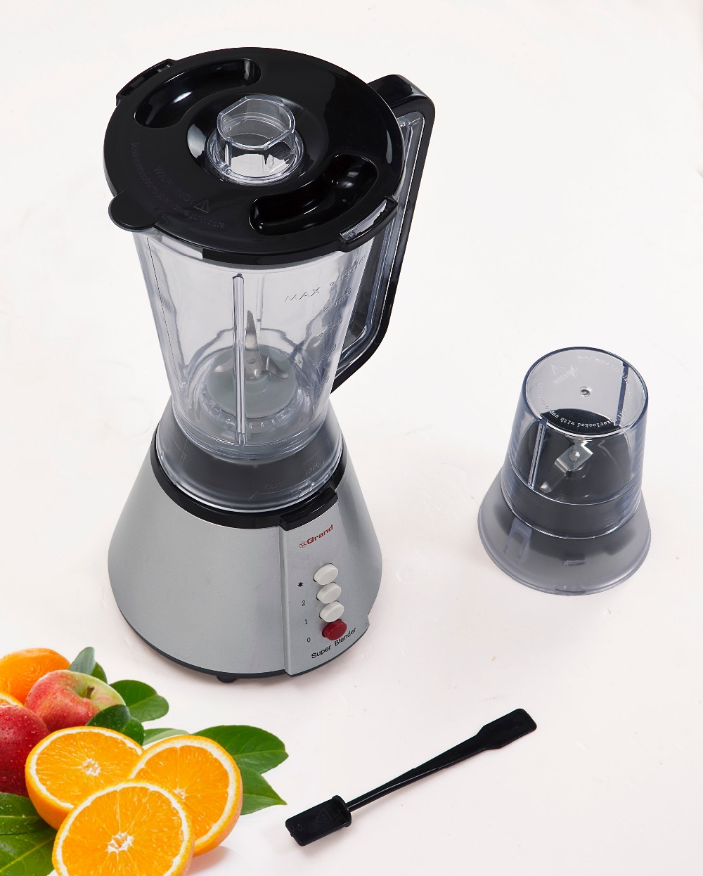 electric appliances 2 in 1 blender and grinder with plastic jar KD326B