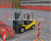 Virtual Simulation Operating Software, Forklift operator training evaluation system