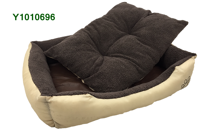 YANGYANG Pet Products Deluxe Soft Washable Fleece Lined Dog Pet Bed