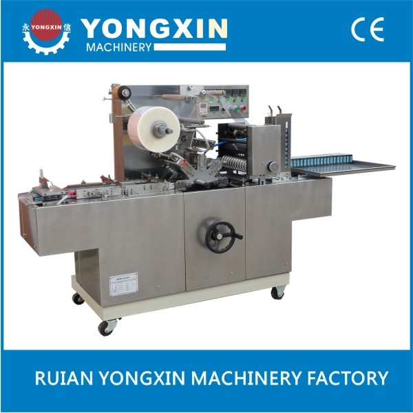 biscuit cellophane overwrapper machine