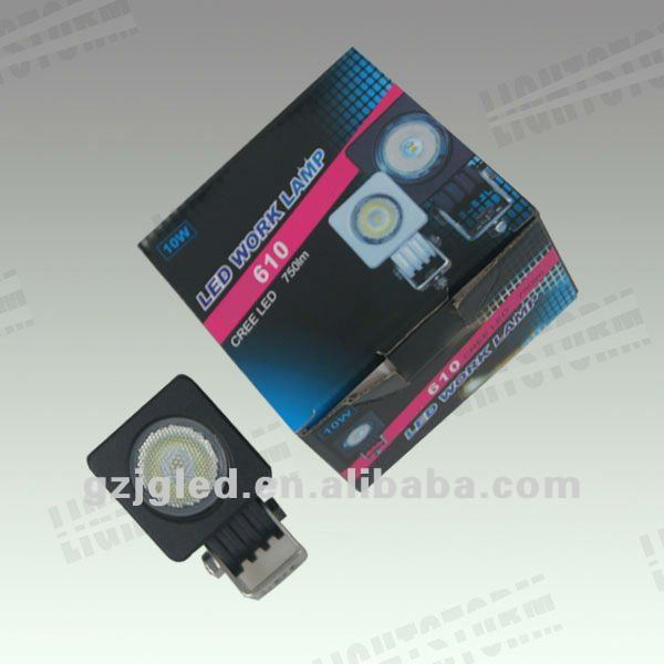 Small body waterproof IP68 10-watt Cree T6 high power led driving headlights performance as Vision,one year warranty
