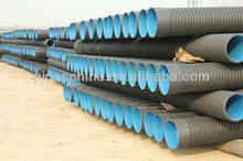PVC/PE Corrugated pipe for waste water