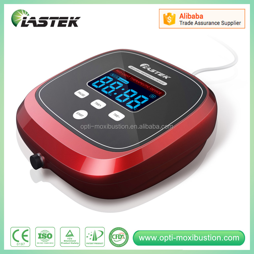 Medical infrared laser therapy device with digital LCD display