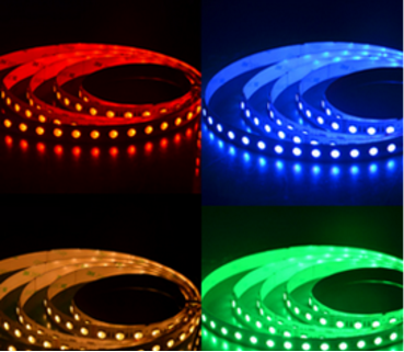 flexible smd 2835 led strip with RGBW color for lighting