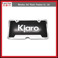 Cheap car accessories license plate frames