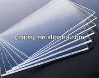 "48""*96"" size Rigid PVC sheets, transparent clear"