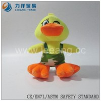 Hot Sale Plush Toys Stuffed Animal Soft Toy Plush Duck Toy With Clothes, Custom toys,CE/ASTM safety stardard
