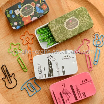 Shaped paperclips