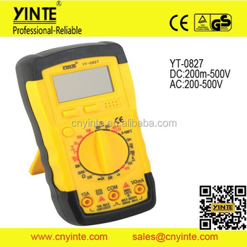 new 7 functions AC DC voltage electrical multimeter
