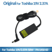 Original universal laptop charger for Toshiba adapter 19V 2.37A 50w PA1450-60