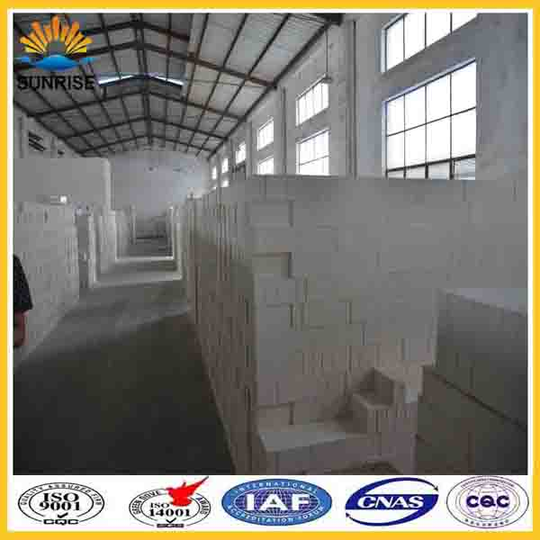 for glass fusing kiln fire bricks for sale light weight mullite insulation brick