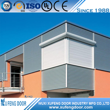 Modern Design Aluminum Extrusion Rolling Shutter Window