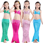 hot style Girl Bikini Mermaid Swimsuit Children's Swimsuit Mermaid Tail Girl Costume Suit