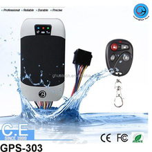 GH GPS Tracker GPS-303 with shock &fuel sensor and door alarm or motor E-bike real time gps tracking tracker