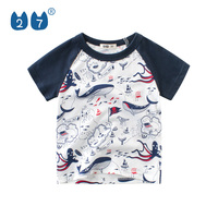 2019 summer hot style all over printed kids tee shirts for boys