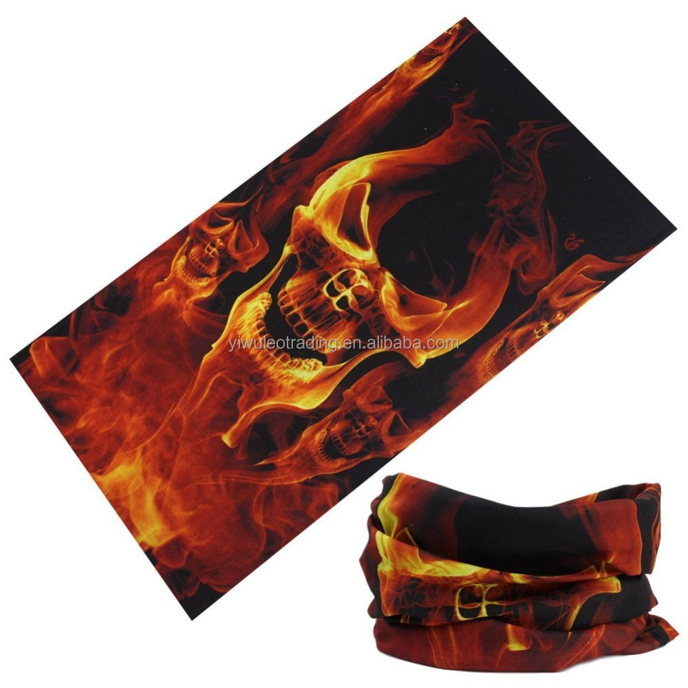 Outdoor Scarf Multifunctional Headwears Forest Hunting Woodland Camouflage Magic Seamless Tubes Bandana skull mask