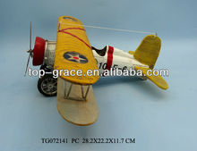 polyresin crafts airplane model antique baby gifts