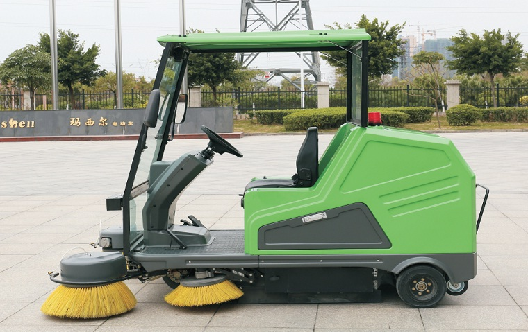 CE approved floor sweeper electric street sweeper DQS18A