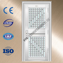 flat metal door stainless steel entrance door with low price