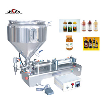 Automatic Small Paste Cream Liquid Mineral Water Bottle Filling Machine