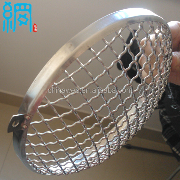 Stainless Steel Mesh Headlight Guards Grills Fit Vw