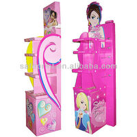 High quality cardboard toy hanging display