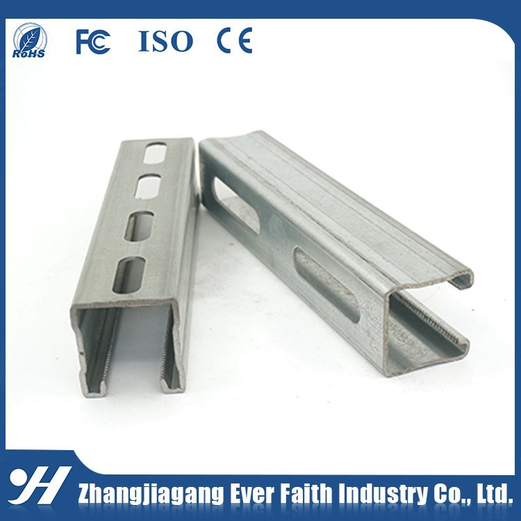 C Shape Galvanised Unistrut Channel