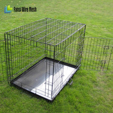 Alibaba China - Large outdoor chain link dog kennel / dog cages, stackable stainless steel dog cage