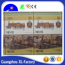 Customized security postage stamp paper printing,Self adhesive Postage Stamps sticker