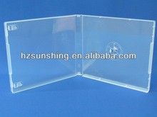 16mm Plastic Single Clear Audio Blank CD Tape Case
