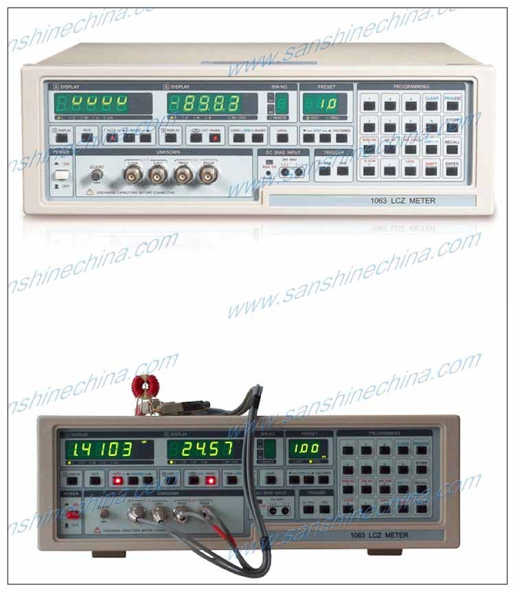 Lcr Impedance Meter : Precision digital lcr meter tester ss view
