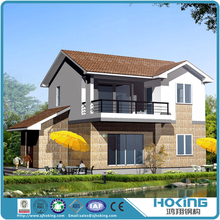 Modern Prefabricated Light Steel Frame Prefabricated Villa