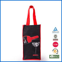 100% recyclable non woven bottle bag
