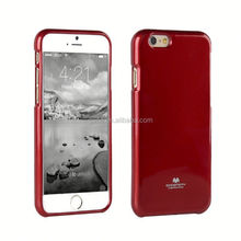 Fashion Goospery Jelly TPU Case For iphone 6s 7g 8plus , Soft Mercury Jelly TPU Phone Case