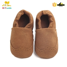 Hot selling high qualitysoft leather baby shoes