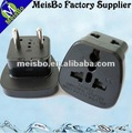 Full abs pc universal world travel adaptor in SouthAmerica
