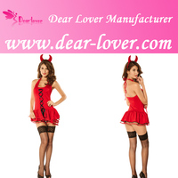 3PC Sexy Halloween Devil Costume Sexy Costume Wholesale Lingerie Online