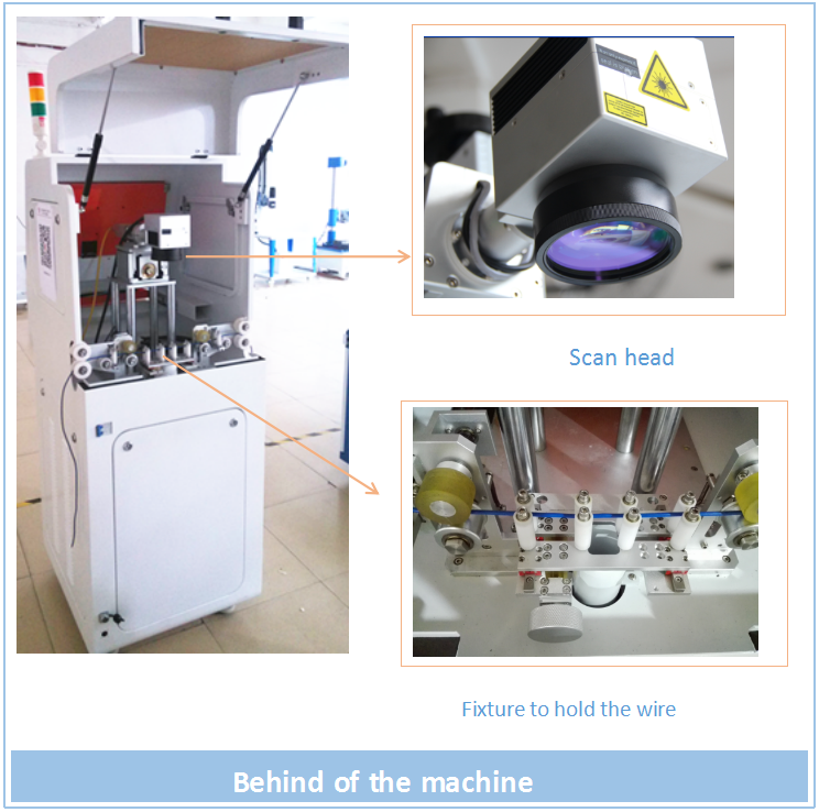 Widely Used Multifunctional Optical Fiber Laser Marking Machine For Wire/Glasses Frame/Surgical Instruments/Copper/Plastic