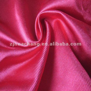 100% polyester plain warp knitted fabric
