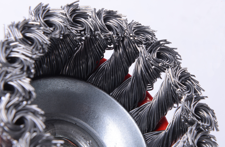 65mm-125mm wire wheel high quality wire twist cup brush
