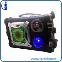40W led light backpack wireless bluetooth 5 inch speaker UK-02 support SD Mobile Phone
