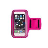 Cheap promotion durable cheap logo printed mobile phone armband case