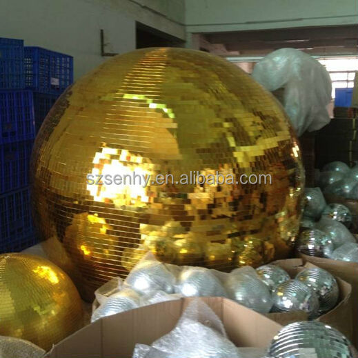 2m big and giant disco mirror ball